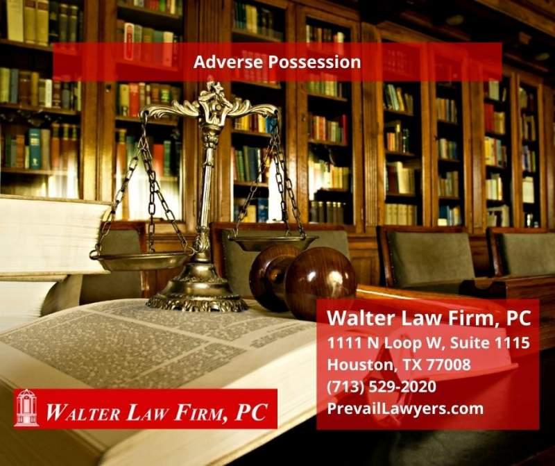 adverse possession texas statute