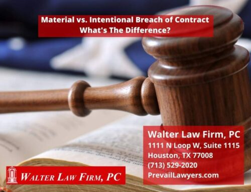 Texas Breach of Contract Law