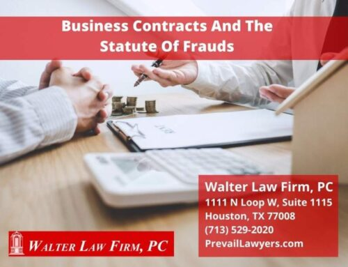 Business Contracts And The Statute Of Frauds