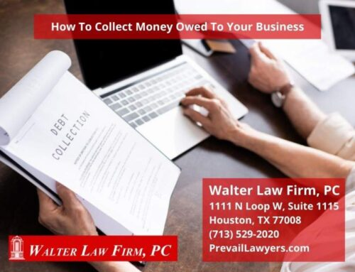How To Collect Money Owed To Your Business