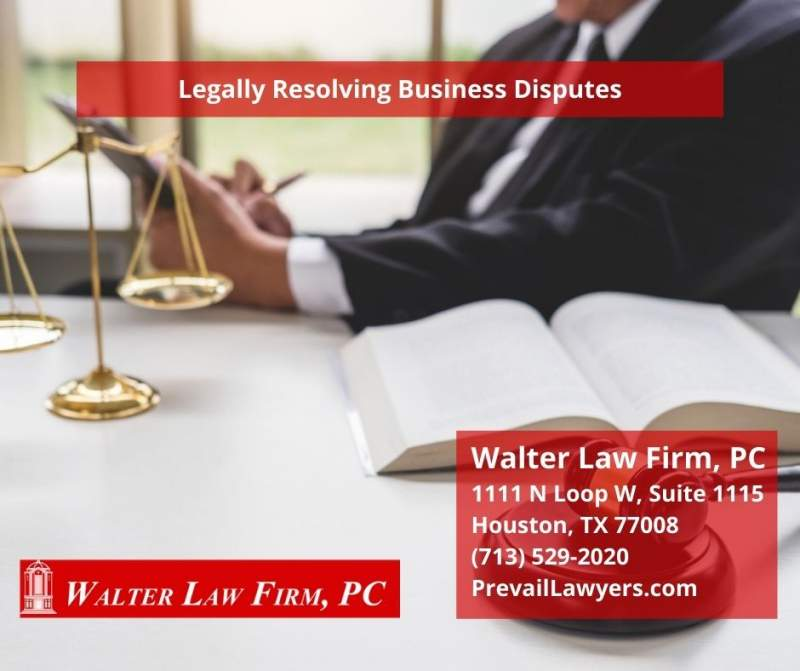 Legally Resolving Business Disputes